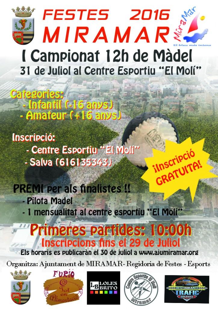 I Campionat madel 12h