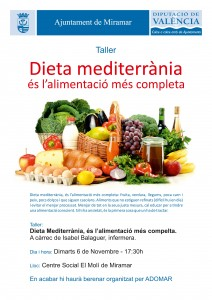 20181106 Taller dieta mediterrània