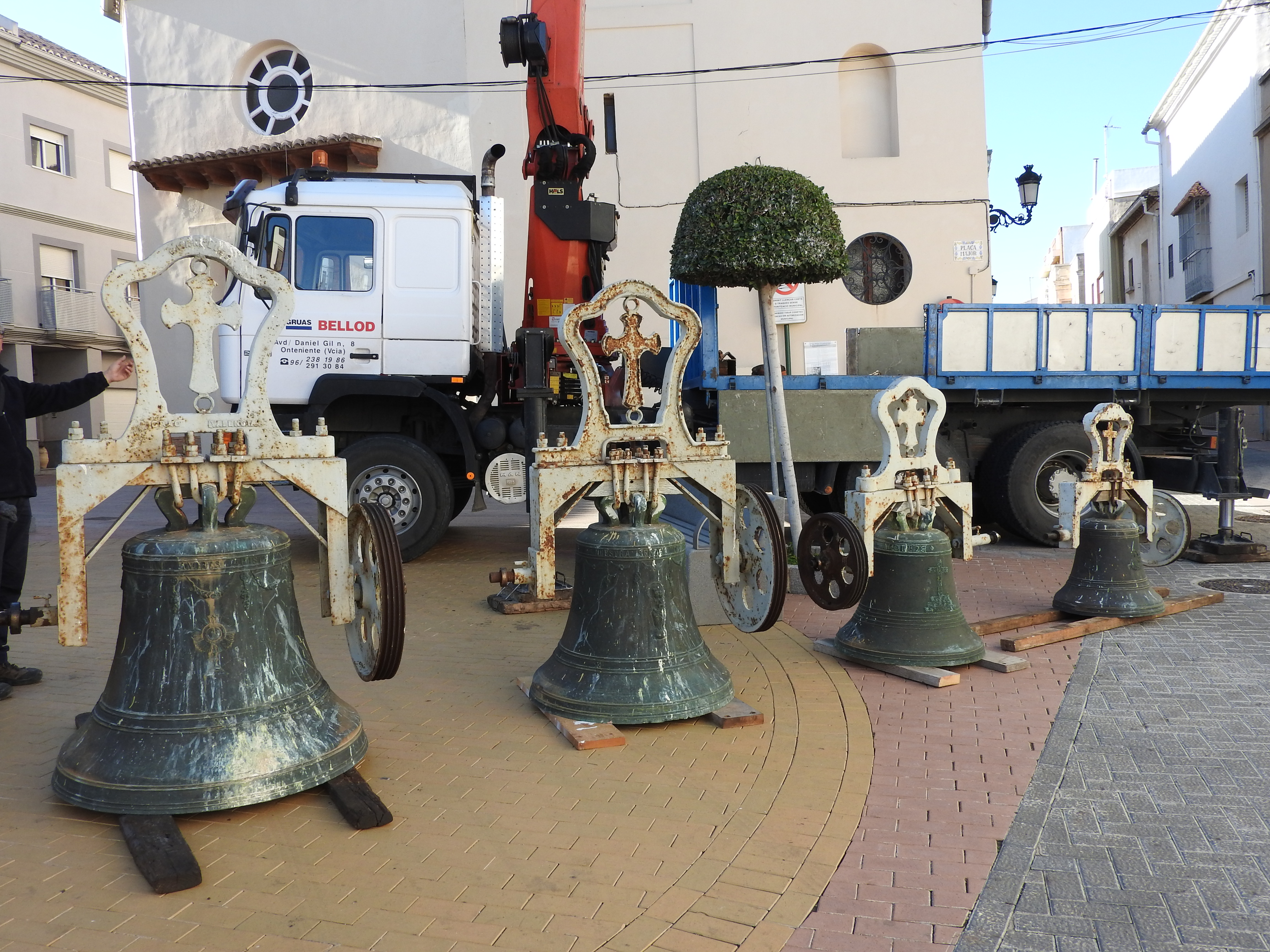Campanes del campanar de Miramar.