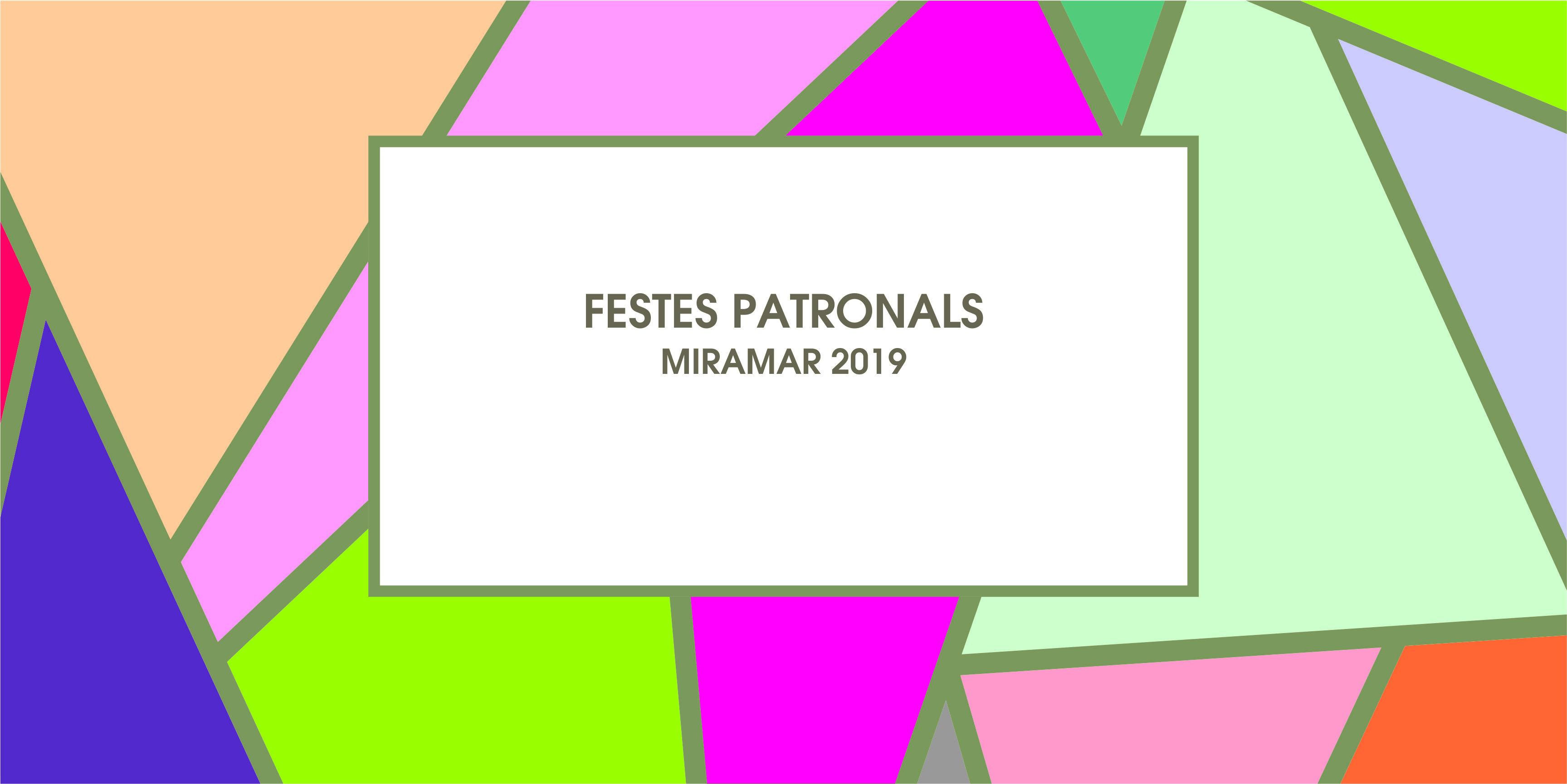 INICI FESTES PATRONALS